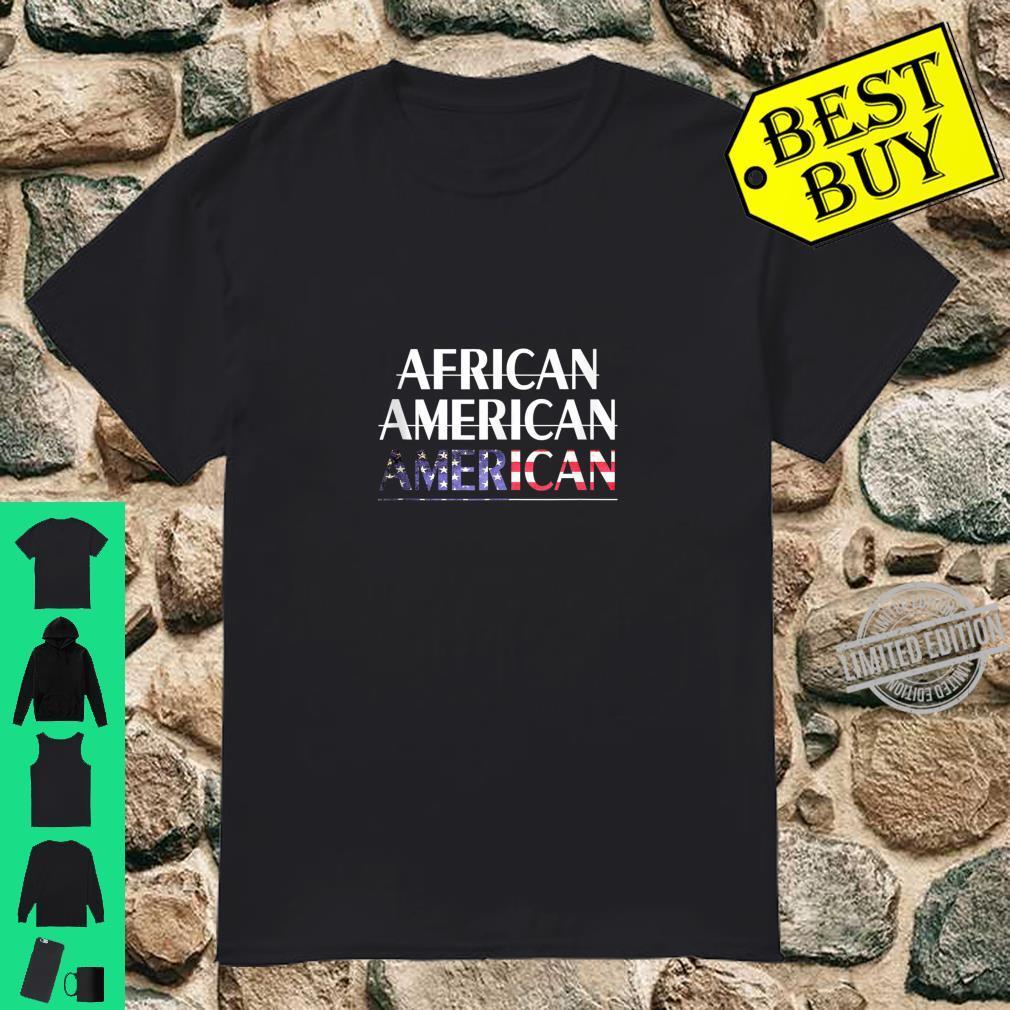 African Americans Are American Proud Trump Republican Pride Shirt