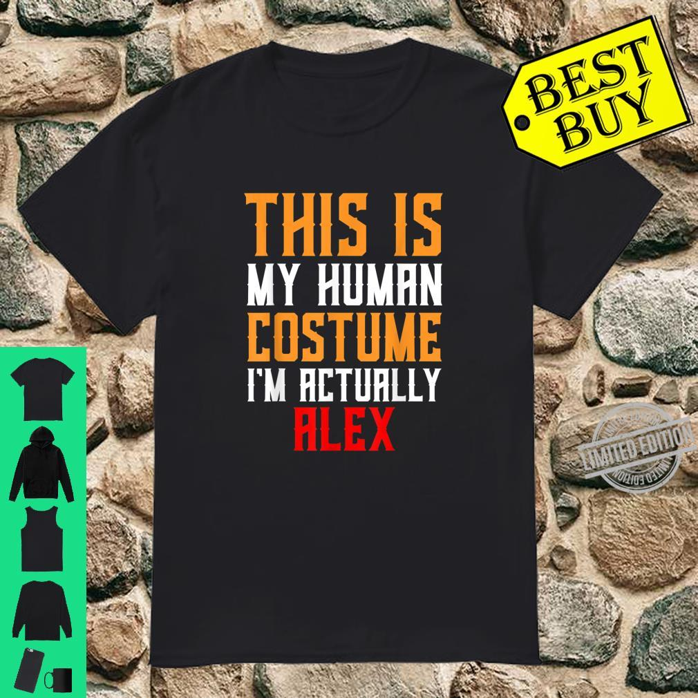 Alex Costume Shirt