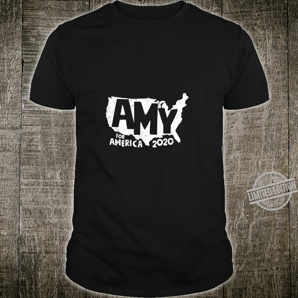 Amy For America 2020 President Klobuchar Vintage Look Shirt