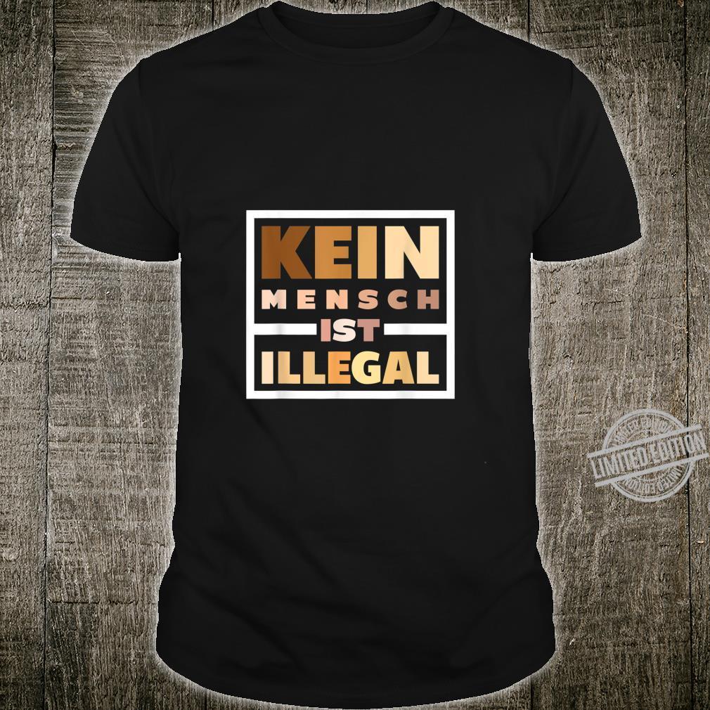 Antifaschist Anti Rassismus Black Lives Matter Antirassist Shirt