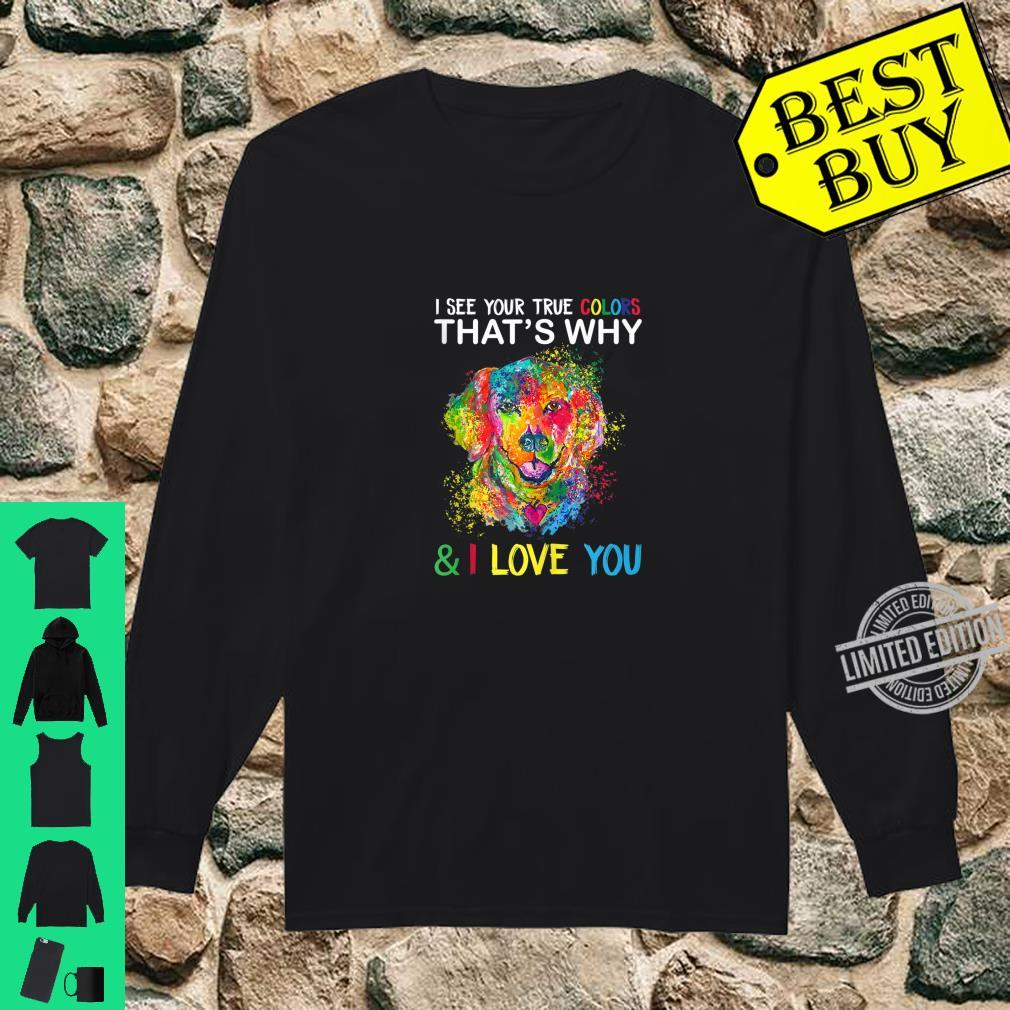 Autism Awareness Shirt It's OK to be Different Dogss Shirt long sleeved