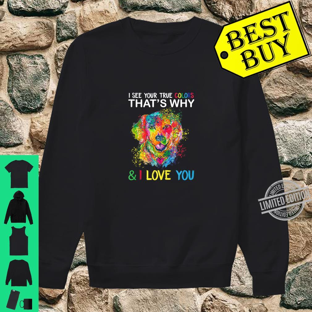 Autism Awareness Shirt It's OK to be Different Dogss Shirt sweater