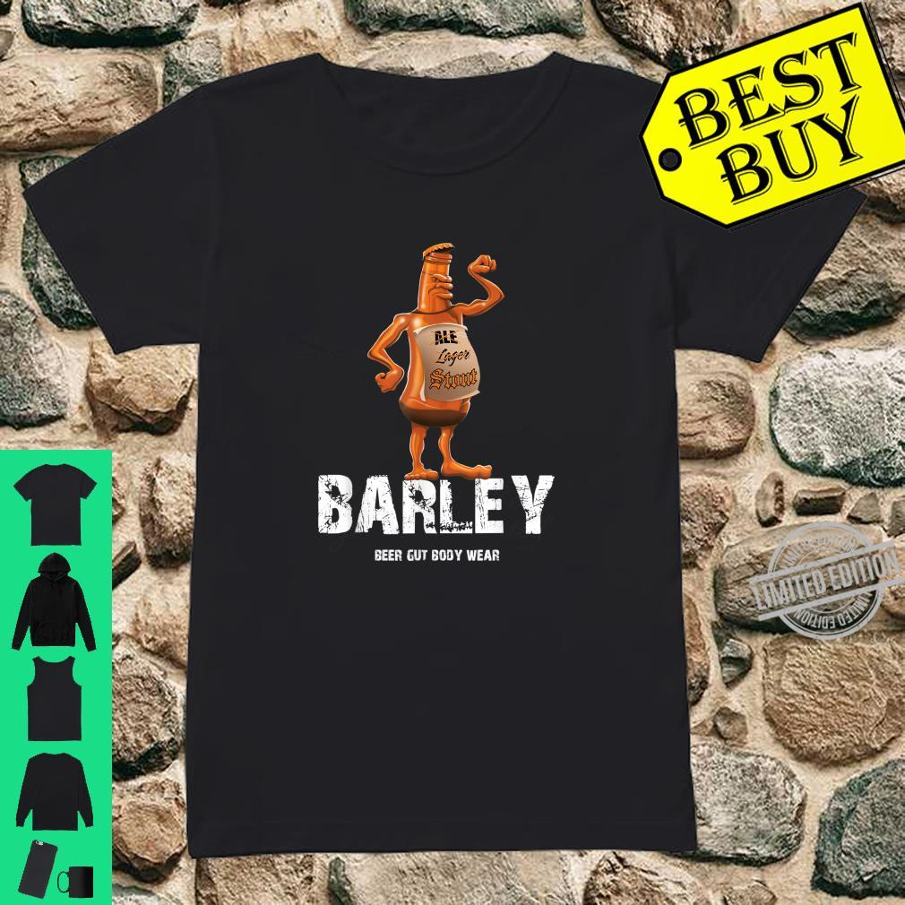 Beer Gut Body Wear Barley Shirt ladies tee