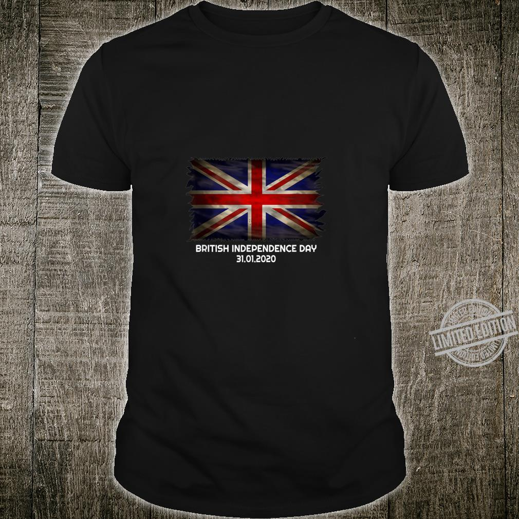 British Independence Day Brexit Valentines Day Shirt