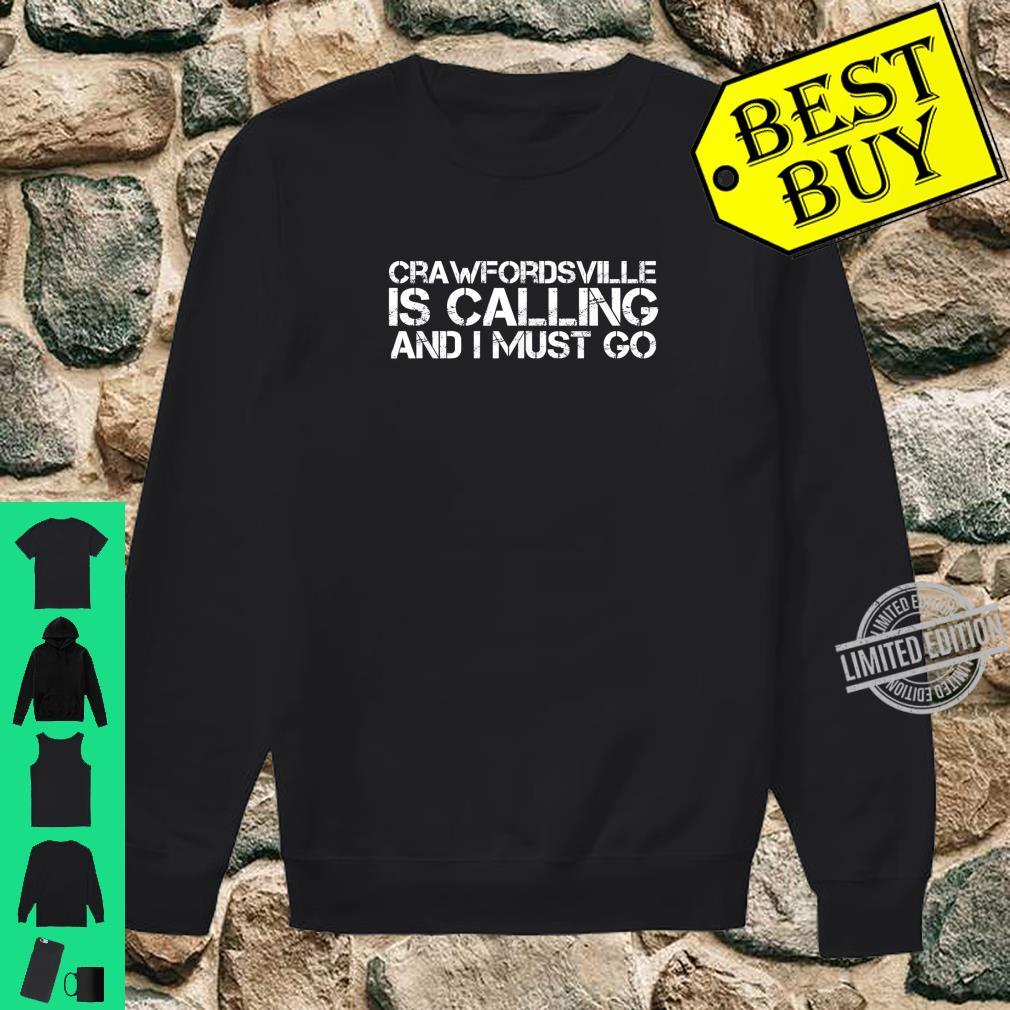 CRAWFORDSVILLE IN INDIANA City Trip Home USA Shirt sweater