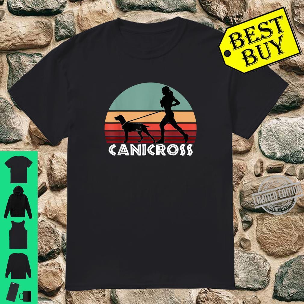 Canicross Cross Country Dog Running Shirt