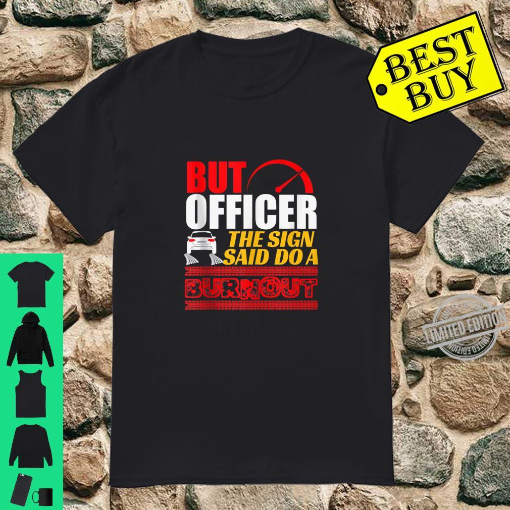 Car Police Officer Ticket Hiway Traffic Shirt