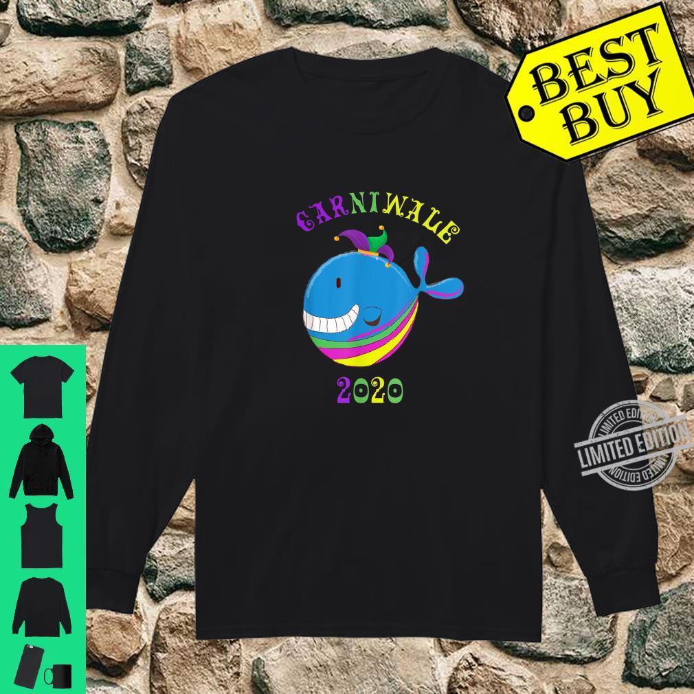 Carniwale Wale Mardi Gras Carnival 2020 Shirt long sleeved