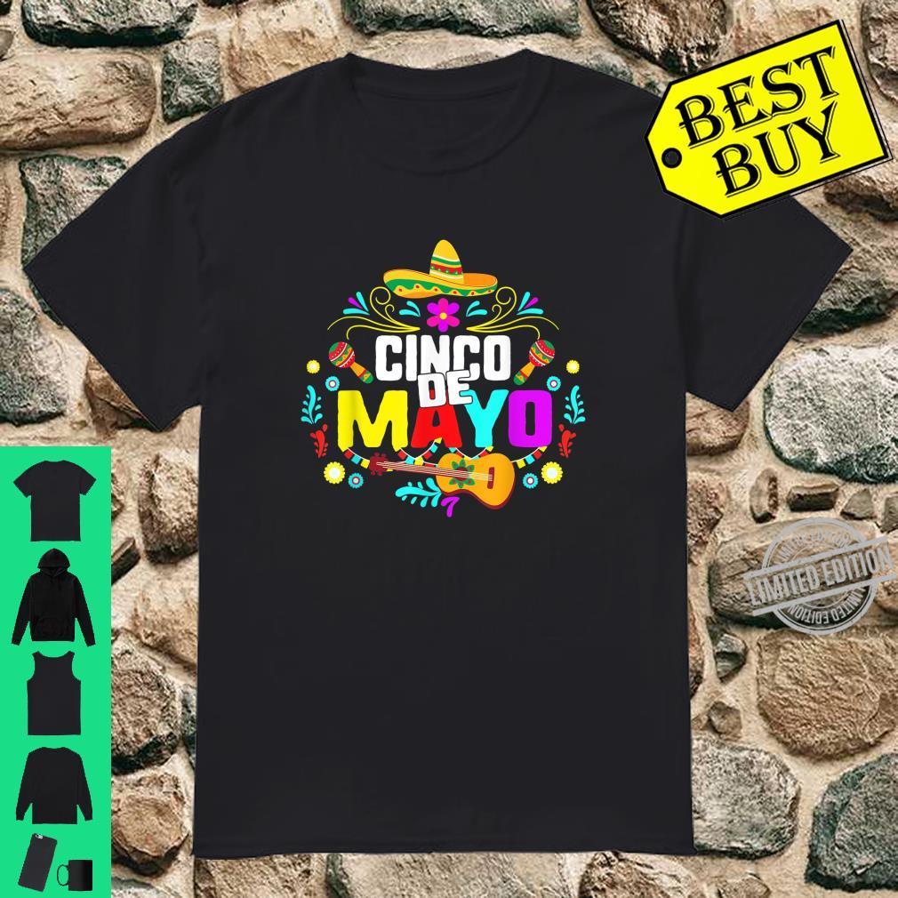 Cinco De Mayo Mexico Taco Nacho Mexican Fiesta Cactus Shirt