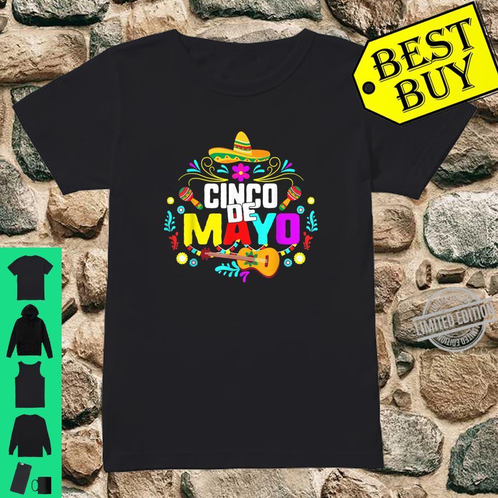 Cinco De Mayo Mexico Taco Nacho Mexican Fiesta Cactus Shirt ladies tee
