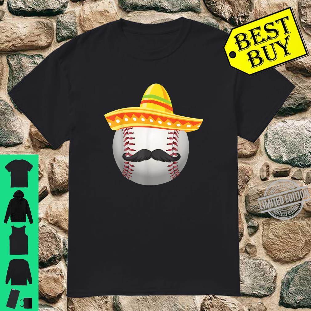 Cinco De Mayo Softball Mexican Sombrero Shirt