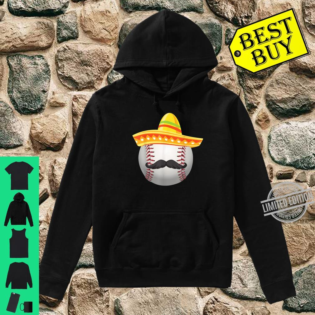 Cinco De Mayo Softball Mexican Sombrero Shirt hoodie