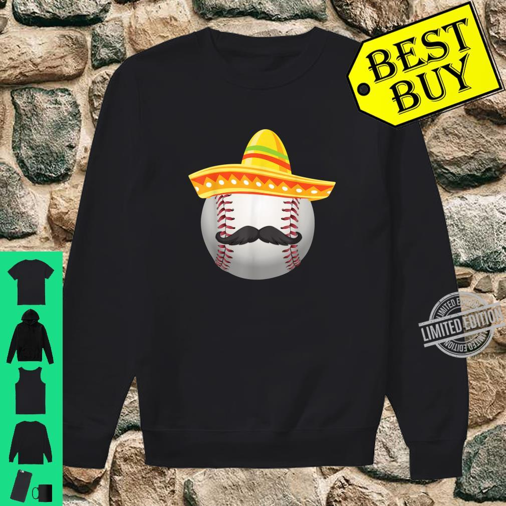 Cinco De Mayo Softball Mexican Sombrero Shirt sweater