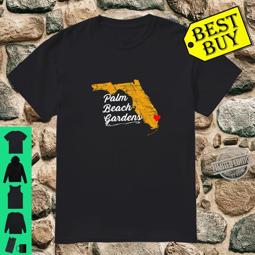 City of PALM BEACH GARDENS FLORIDA Vacation Souvenir Shirt