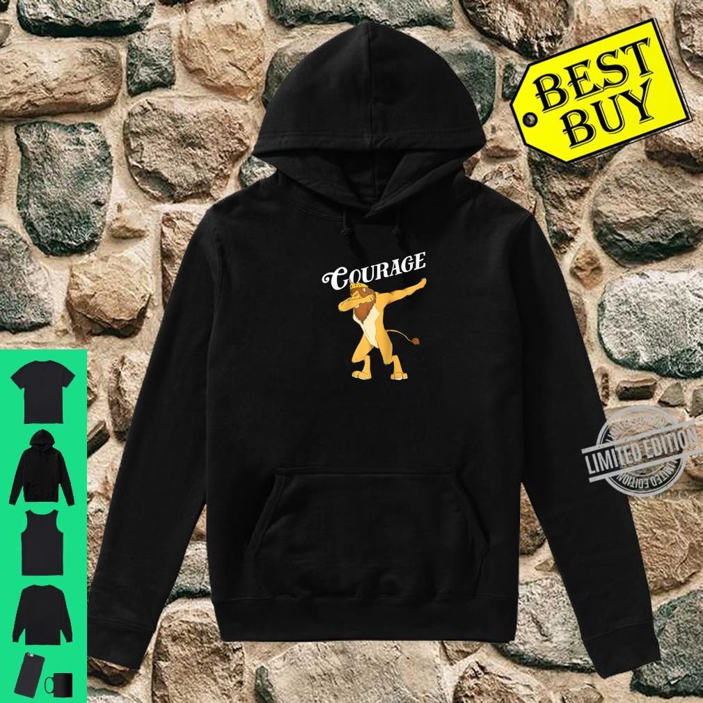 Cowardly Lion Dab The Wizard Of Oz Shirt Courage Shirt hoodie