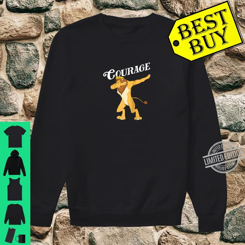 Cowardly Lion Dab The Wizard Of Oz Shirt Courage Shirt sweater