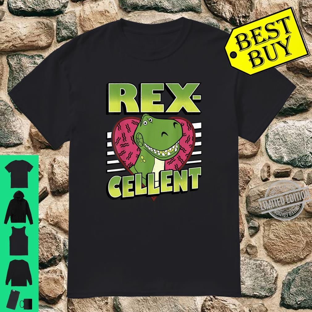 Disney Pixar Toy Story Valentine's Day RexCellent Heart Shirt