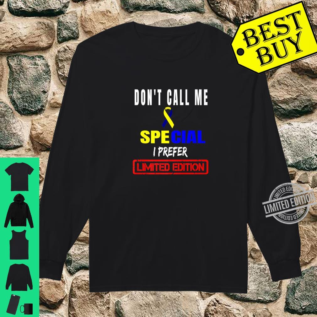 Down Syndrome Day Prefer Limited Edition Chromosomes Costume Shirt long sleeved