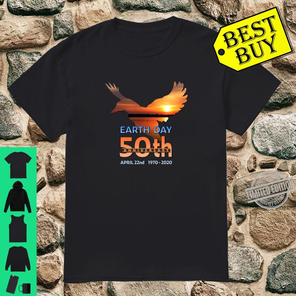 Earth Day 50th Anniversary Duck Silhouette Shirt