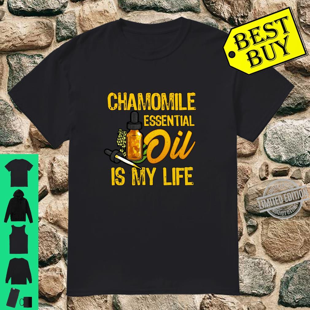 Essential Oils Chamomile Essential Oil Is My Life Langarmshirt Shirt