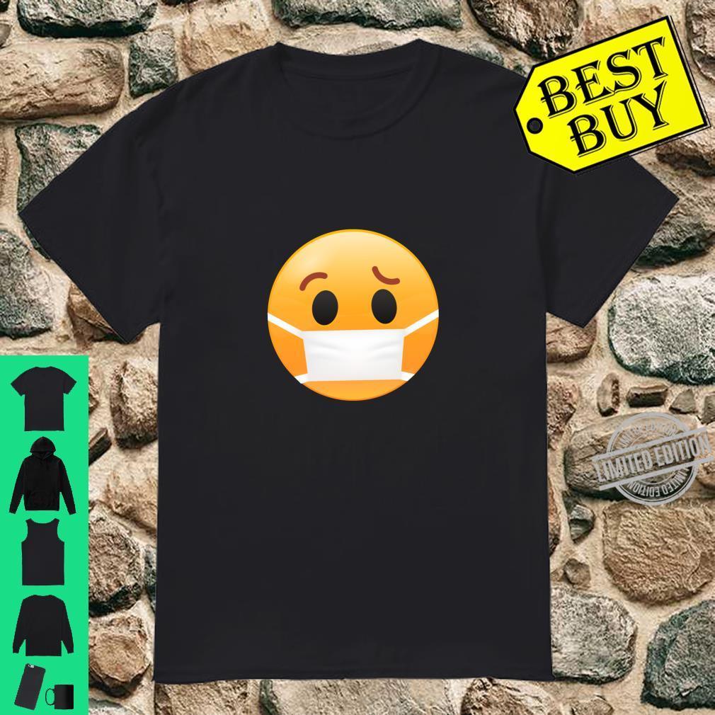 Face Medical Mask Emojis Surgical Health Shirt