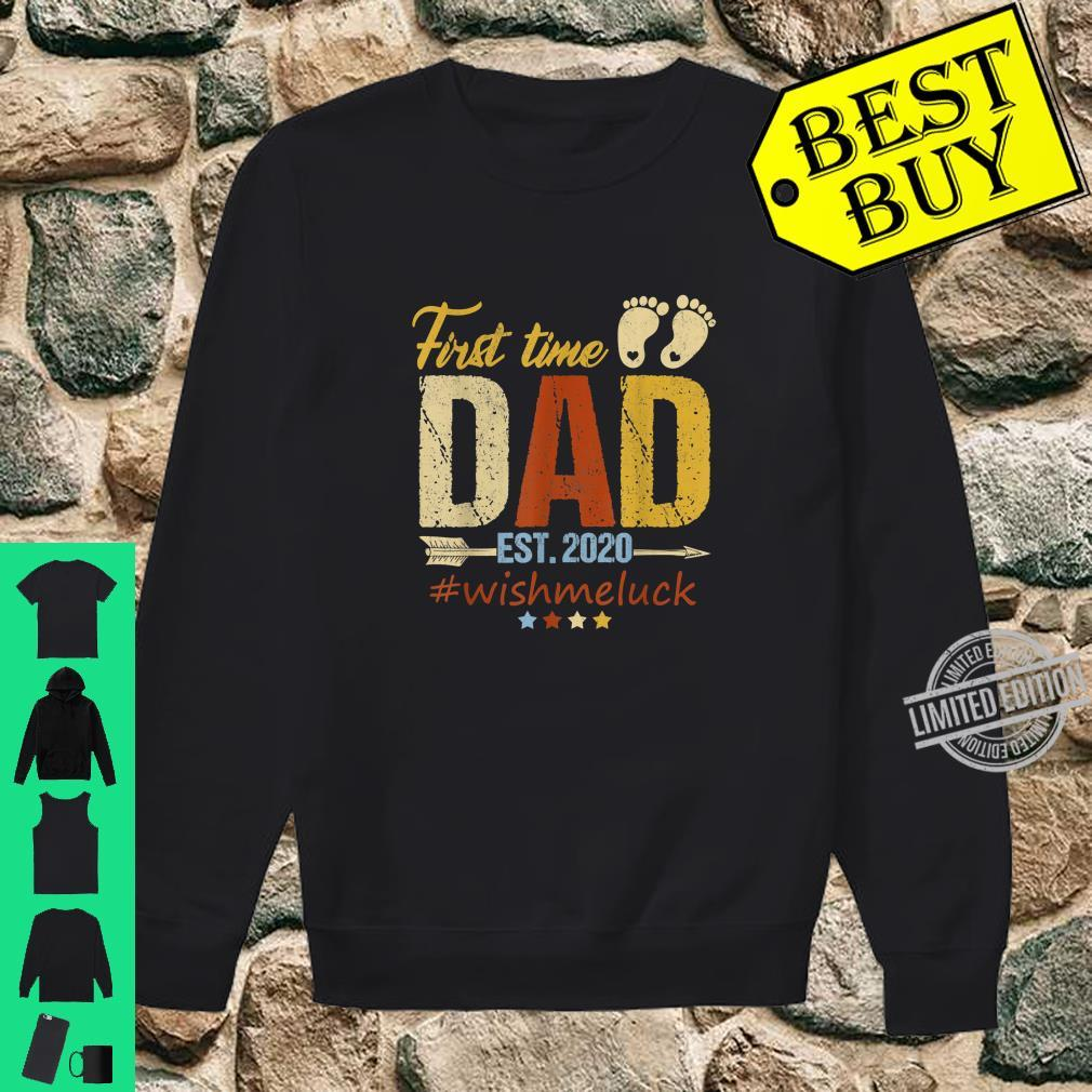First Time Dad Est. 2020 Fathers Days Shirt sweater