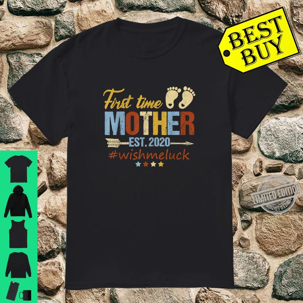 First Time Mother Est. 2020 Fathers Days Shirt