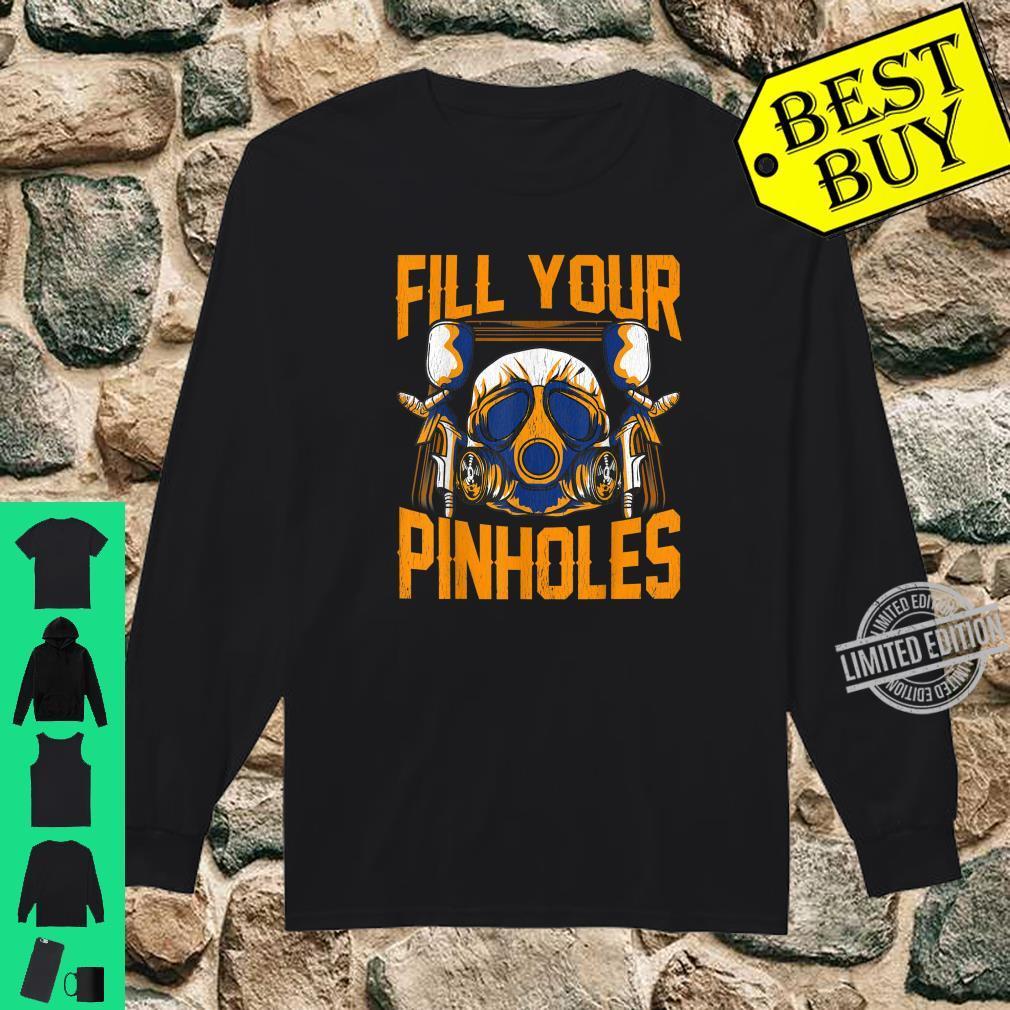 Füllen Sie Ihre Pinholes Automobile Spray Paint Technician Shirt long sleeved