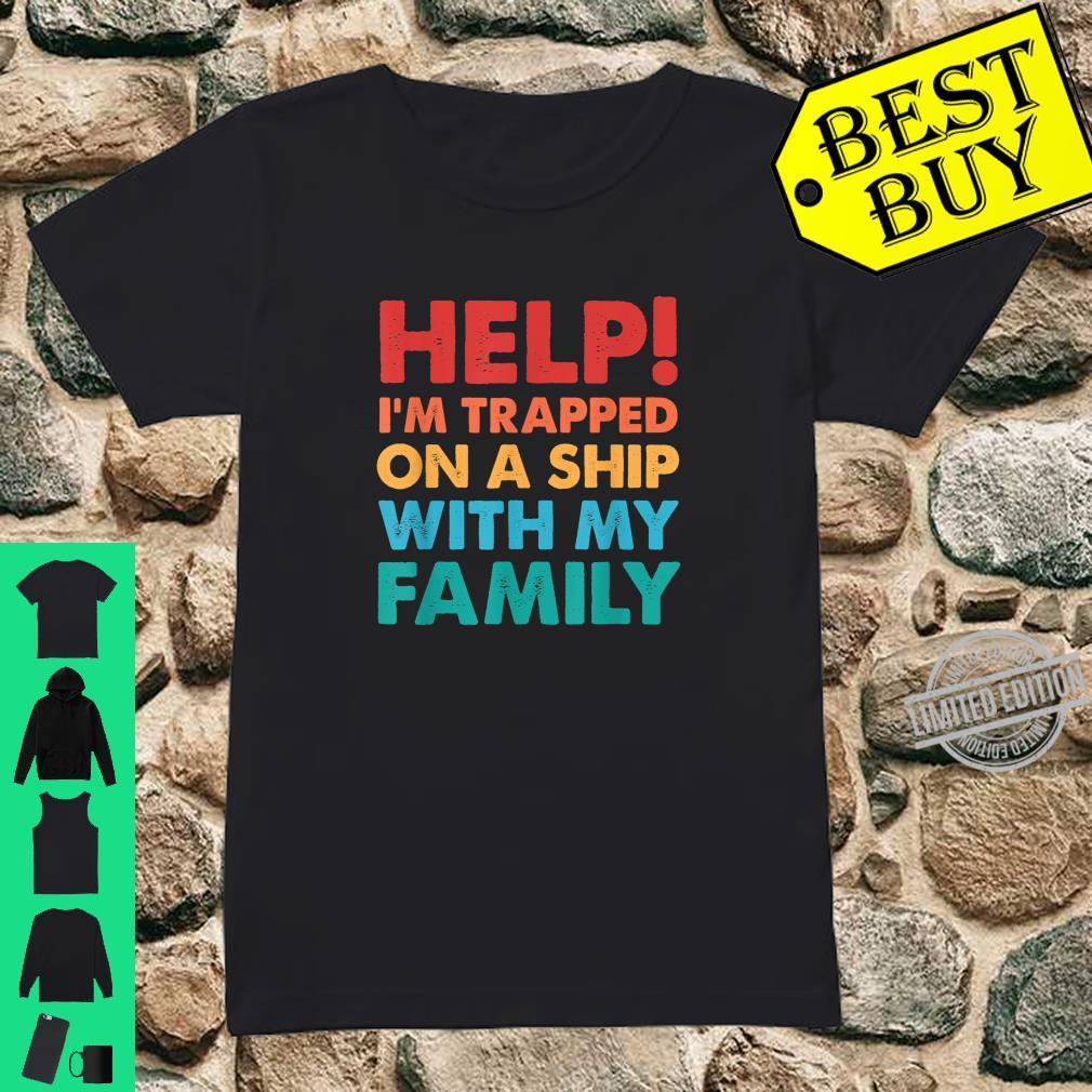 Funny Family Cruise Matching Cruising Vacation Shirt ladies tee