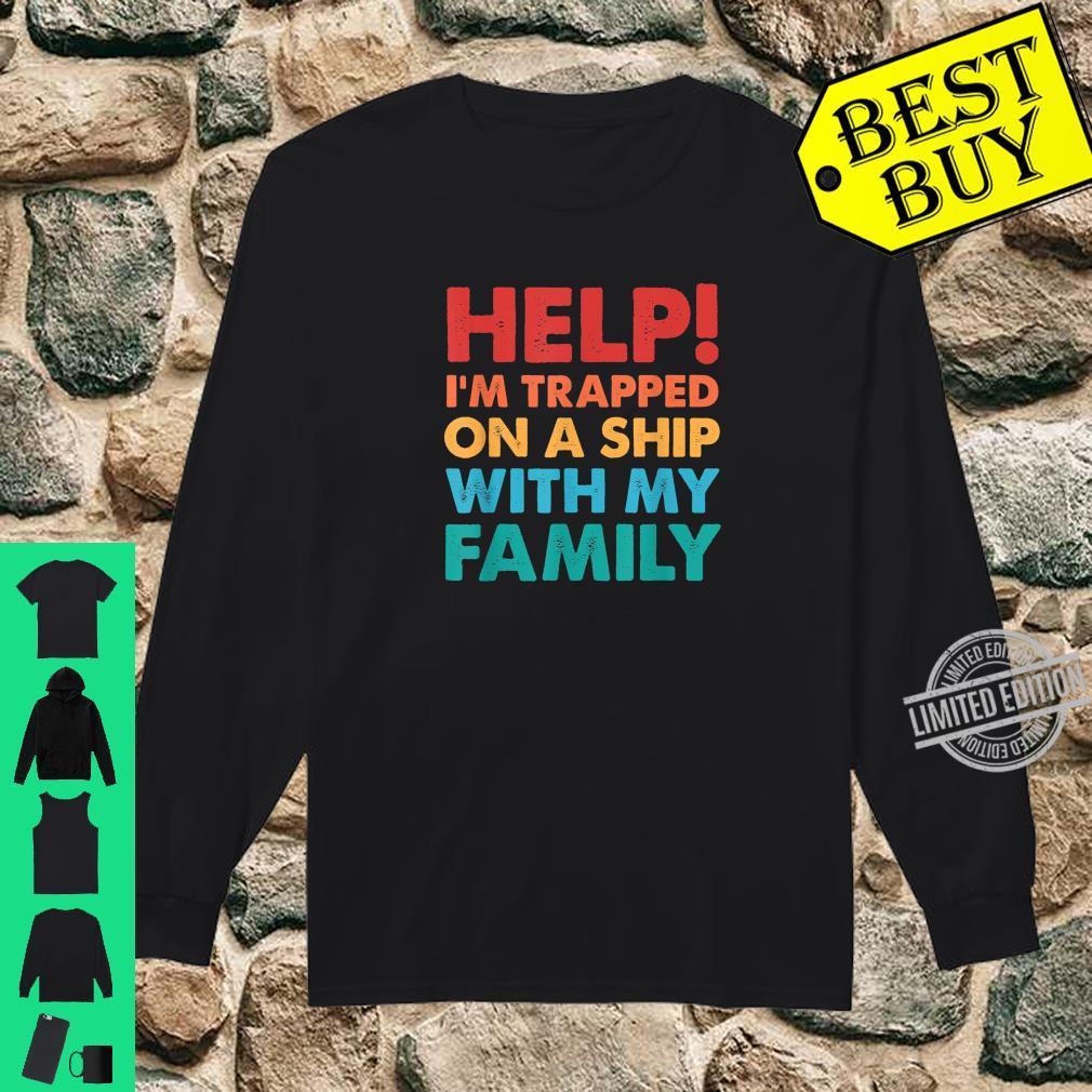 Funny Family Cruise Matching Cruising Vacation Shirt long sleeved