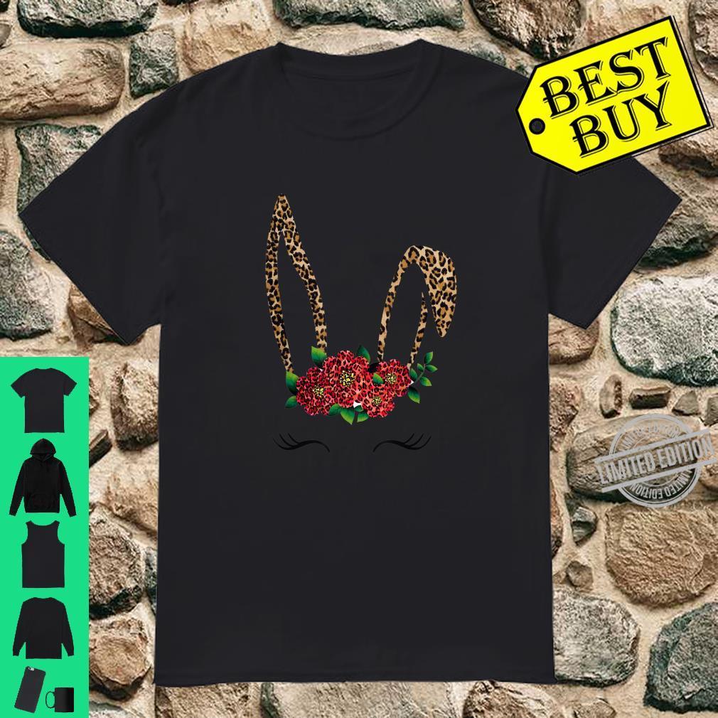 Funny Leopard Unicorn Face Buffalo Plaid for Girls Shirt
