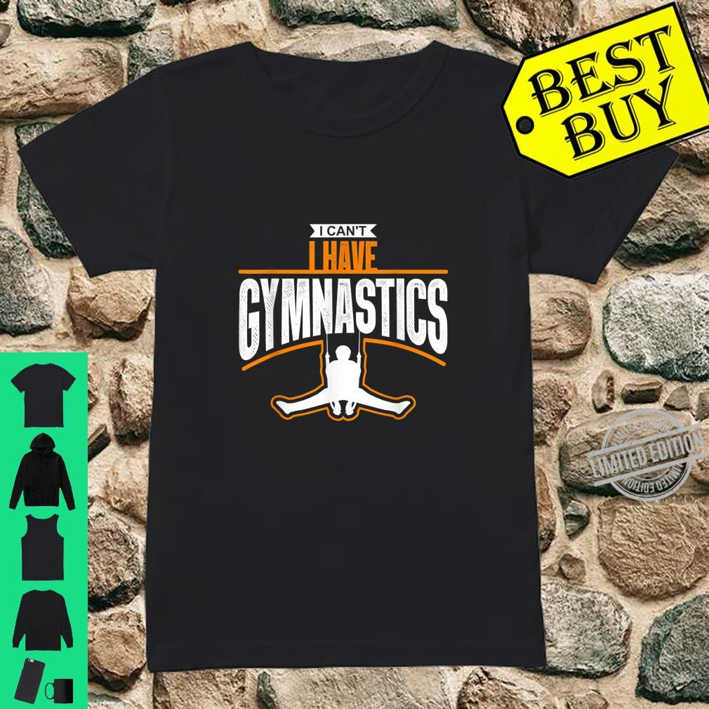 Gymnast Idea Sport Athlete Gymnastics Shirt ladies tee