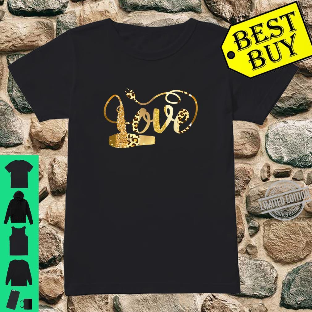 Hair Stylist Valentines Shirt Diva Leopard Animal Print Shirt ladies tee