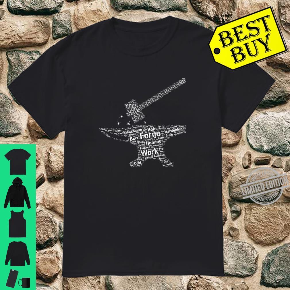 Hammer & Anvil Forging Blacksmith Knifemaker Christmas Shirt