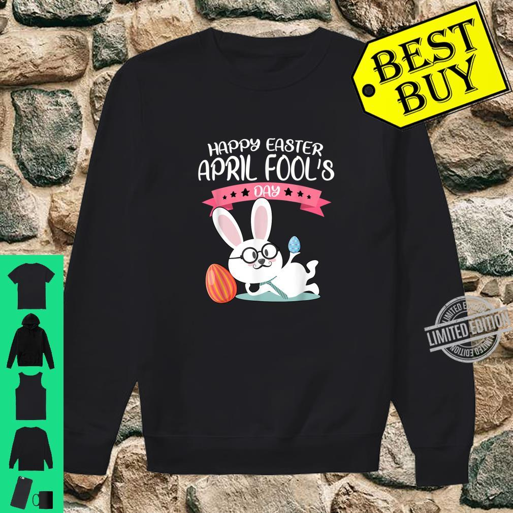 Happy Easter April Fool's Day Shirt Easter 2020 Nerdy Shirt sweater