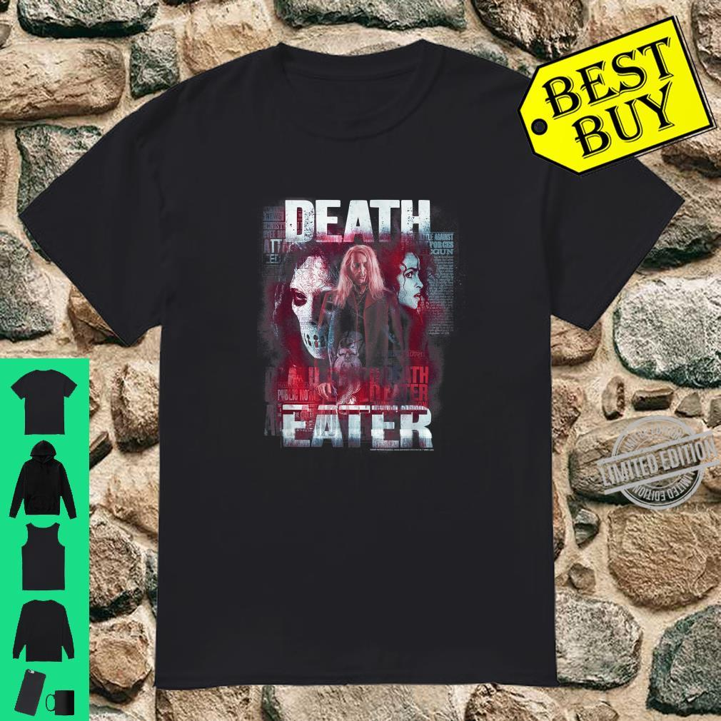 Harry Potter Death Eaters Lucius Malfoy Shirt