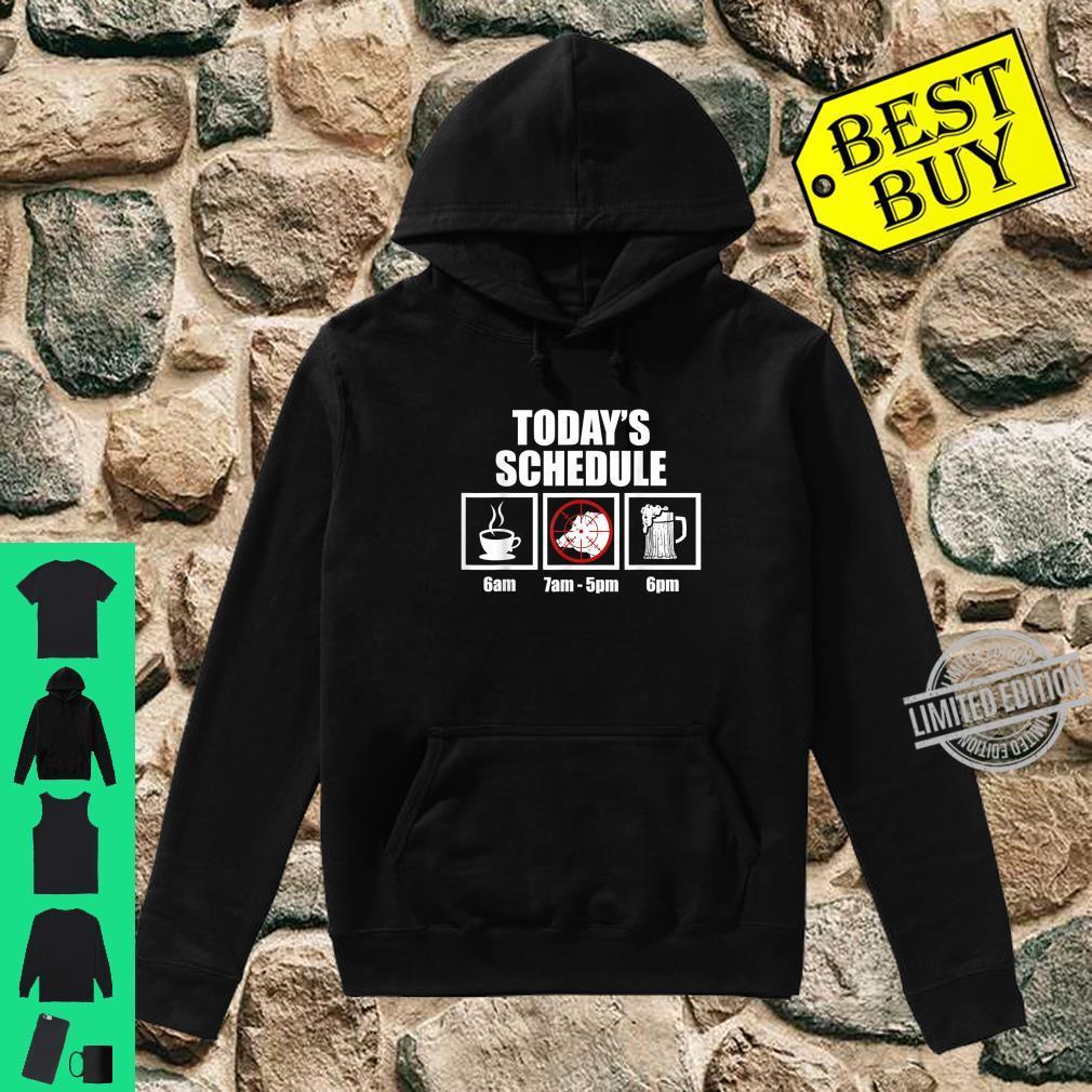 Hog Hunting Season Schedule Boar Hunter Shirt hoodie