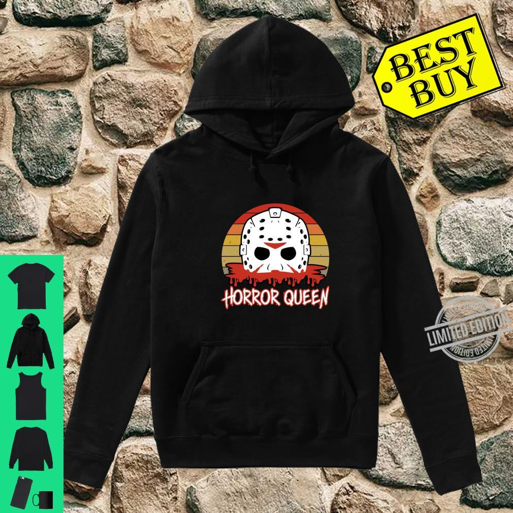 Horror Queen Vintage Horror Fan Halloween Shirt hoodie