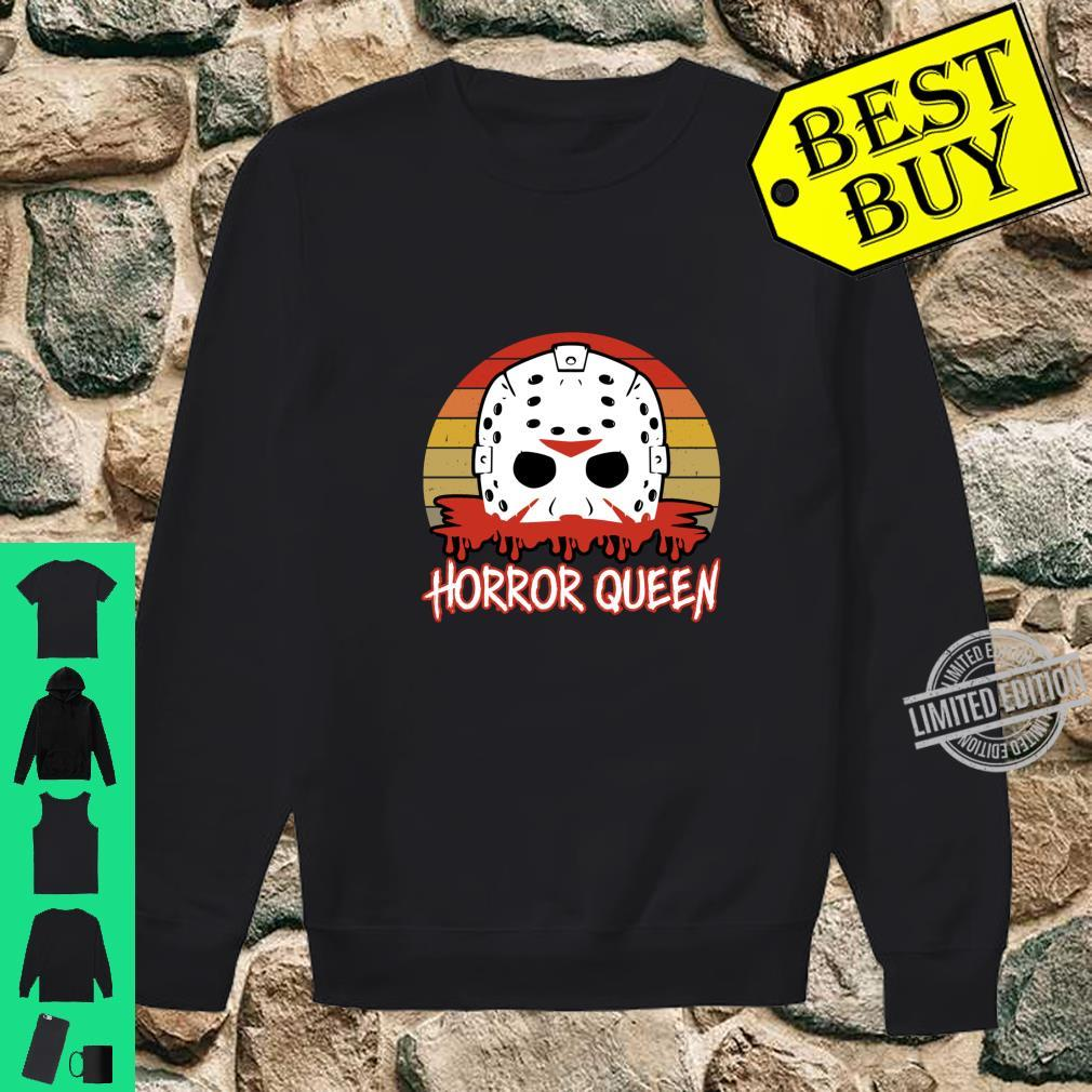 Horror Queen Vintage Horror Fan Halloween Shirt sweater