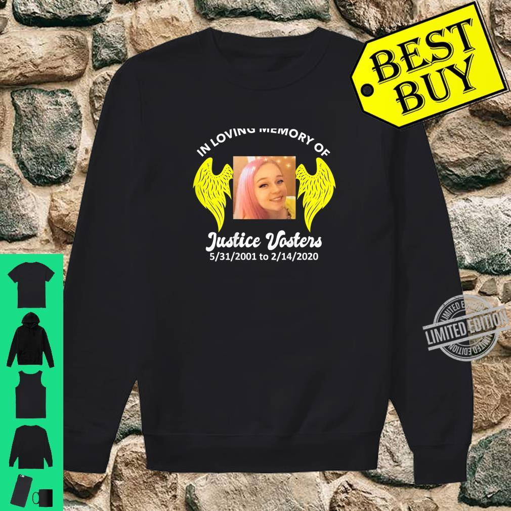 Justice Vosters In Loving Memory Color Shirt sweater