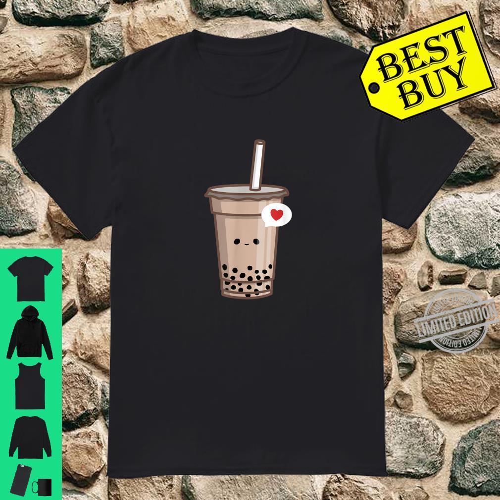 Kawaii Bubble Tea Love Cute Boba Tea Girl Shirt