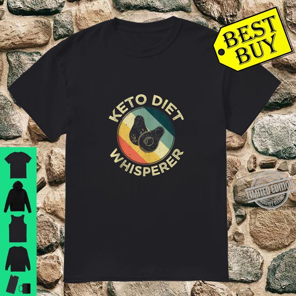 Keto Diet Whisperer Avocado Ketosis Low Carb Food Shirt