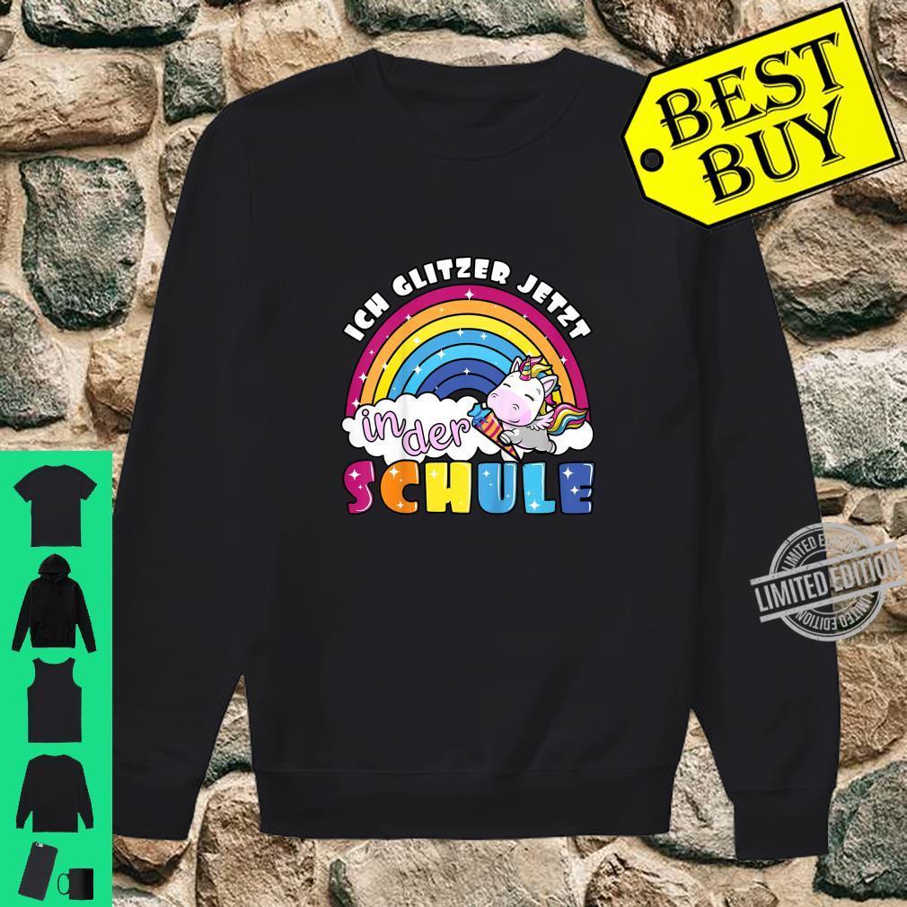 Kinder Einschulung erste Klasse Einhorn Regenbogen zum Schulanfang Shirt sweater