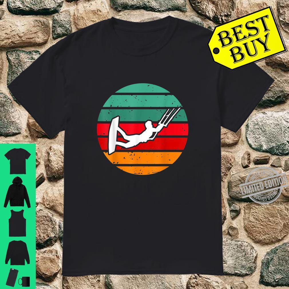 Kitesurfing Kitesurfing Retro Design Shirt