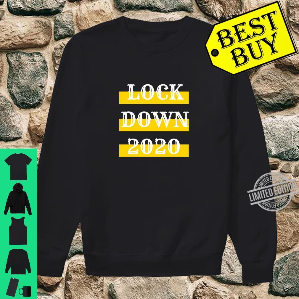 Lock Down 2020 Bestes QuarantäneLockdown Geschenk Shirt sweater