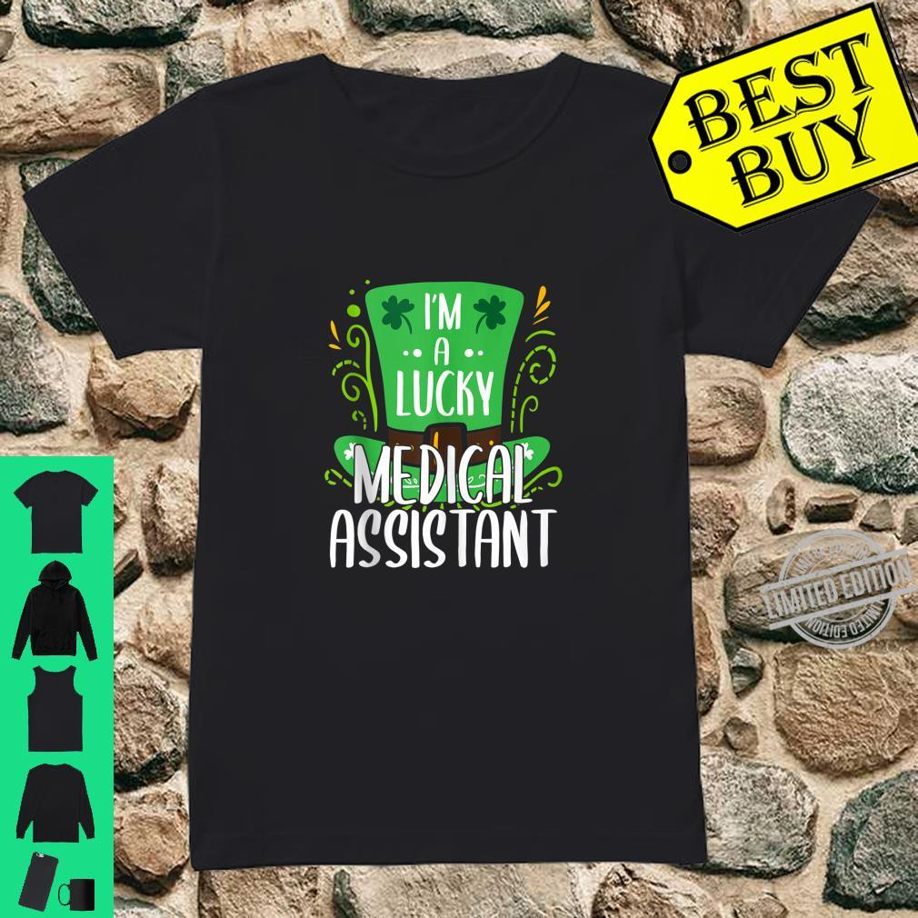 Lucky Medical Assistant St. Patrick's Day Medical Assistants Shirt ladies tee