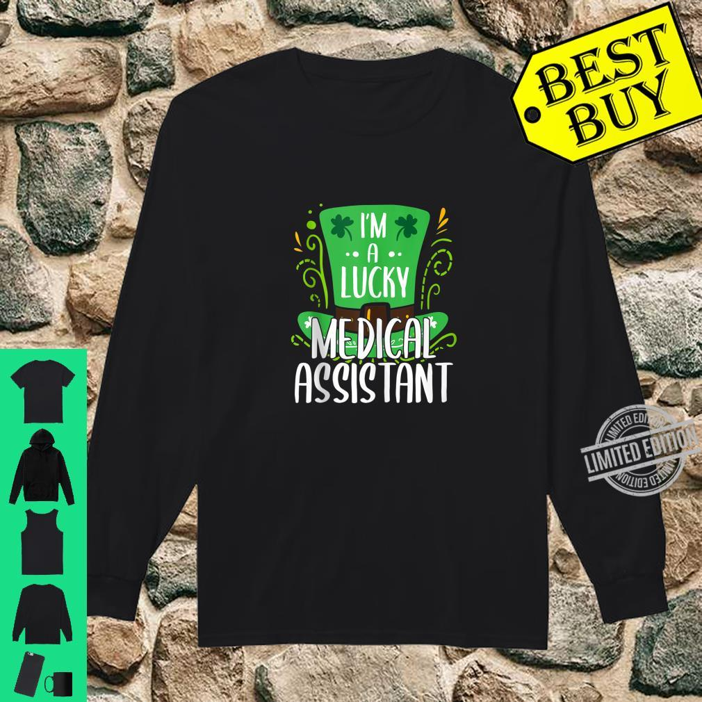 Lucky Medical Assistant St. Patrick's Day Medical Assistants Shirt long sleeved