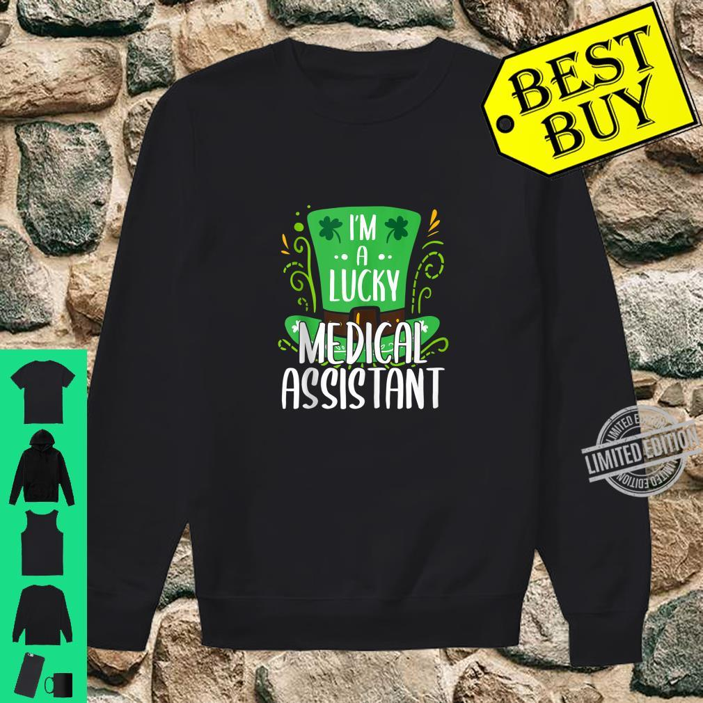 Lucky Medical Assistant St. Patrick's Day Medical Assistants Shirt sweater