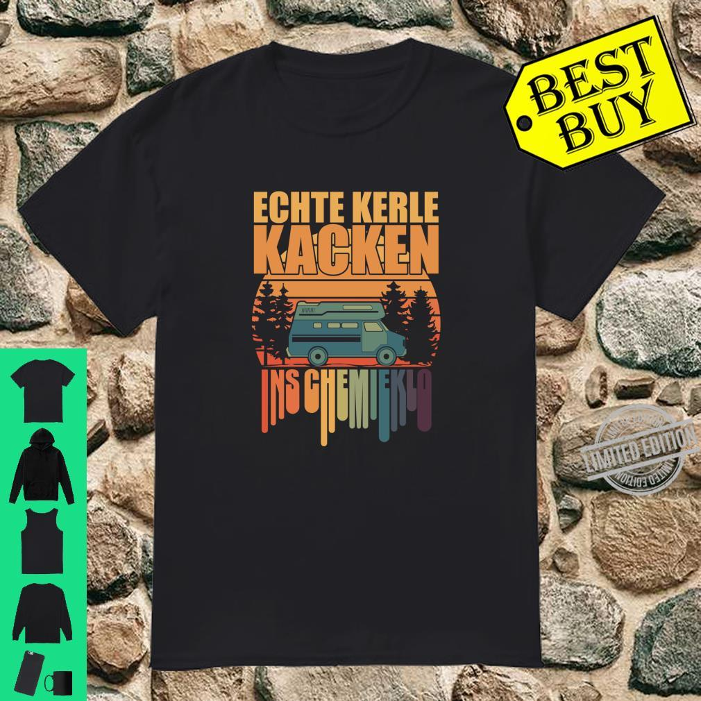 Lustiges Sprüche Camping Geschenk Shirt