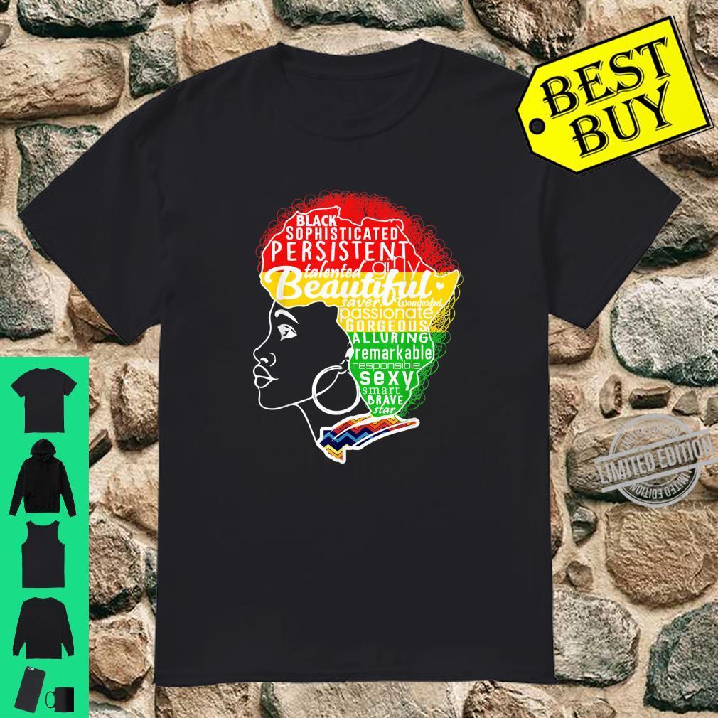 MELANIN Afro Pride Dashiki Shirt